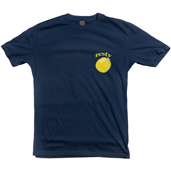 Graphic Zesty Lemon T-shirt - Women