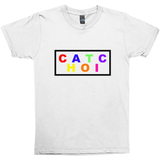 Chaotic Multicolor Boxed T-shirt - Unisex