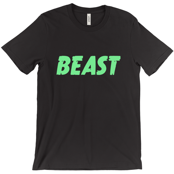 Beast Statement T-shirt  -  Unisex