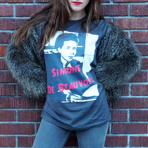 Simone de Beauvoir Graphic T-shirt - Unisex