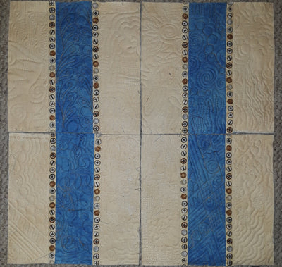 Dad's Woodworking Shop Quilt Kit with Pattern