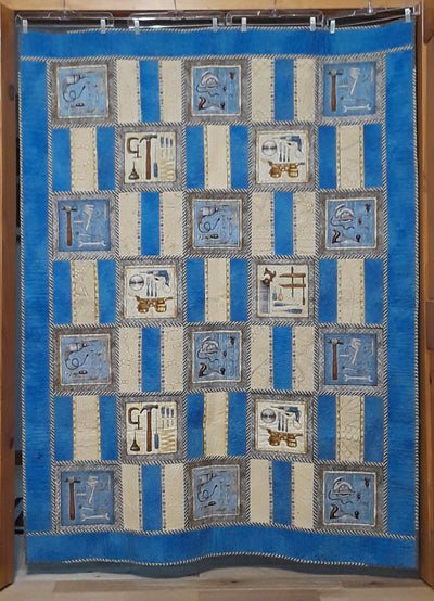 Dad's Woodworking Shop <BR>Panel Pack with Pattern