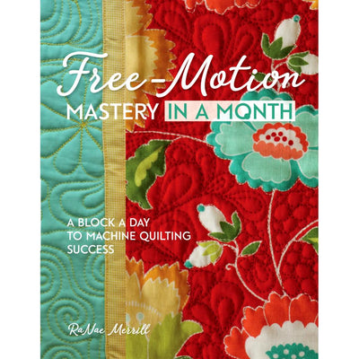 Free-Motion Mastery in a Month Book + Standard Tool Kit Bundle