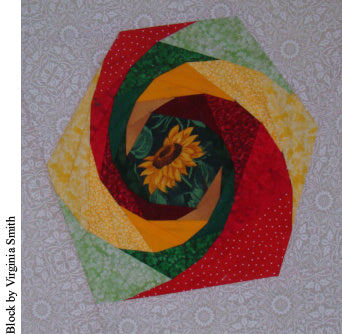 Simply Amazing Nesting Spirals with Painless Paper Piecing