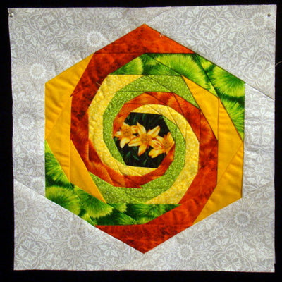 Simply Amazing Baravelle Spirals with Painless Paper Piecing