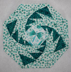 Simply Amazing Point-to-Point Spirals with Painless Paper Piecing