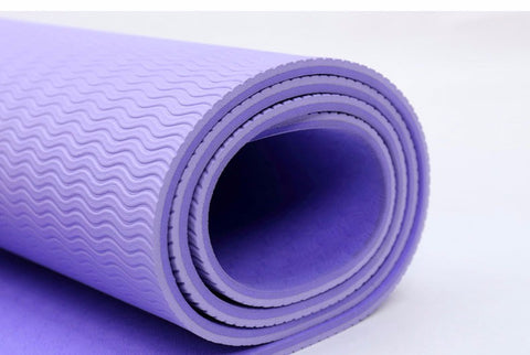 6MM TPE Non-slip Yoga Mats +  Free bag & Strap
