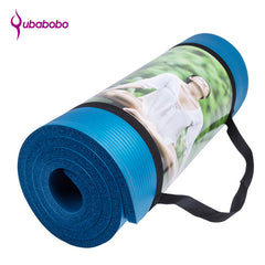 15MM Non-slip Yoga Mats For Fitness