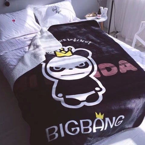 BIGBANG G-Dragon Fleece Bedding Blanket - theidolshop