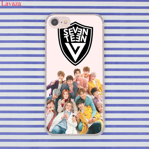 SEVENTEEN Kpop Apple iPhone Hard Case Members - theidolshop