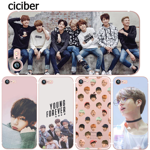 BTS Young Forever Phone Case - iPhone 6, 6S, 7, 8 Plus, 5S, 5, SE, X, 10 - theidolshop