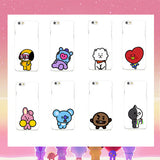 BT21 iPhone X Hard Phone Case - theidolshop