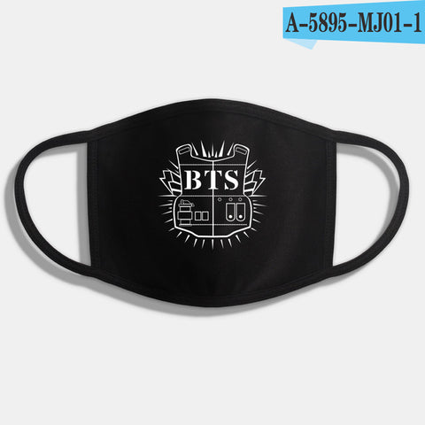 BTS K-Pop Face Masks