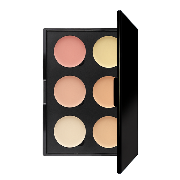 6 WELL COLOUR CORRECTOR PALETTE