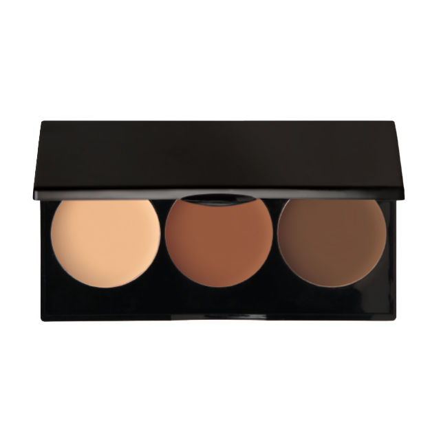 3 WELL CONTOUR CREAM PALETTE