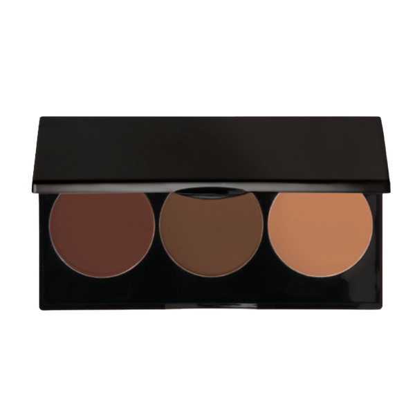 3 WELL CONTOUR POWDER PALETTE