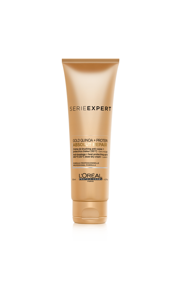 L'Oréal Professionnel Serie Expert Absolut Repair Gold Quinoa Anti-breakage + heat protection Blow-Dry Cream