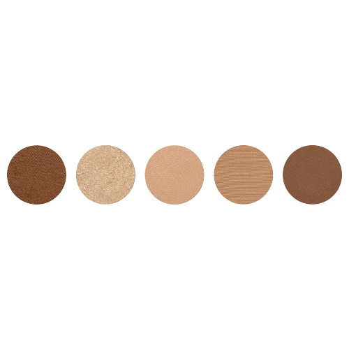 5 WELL EYESHADOWS