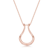 The Drop Ring Holder Necklace