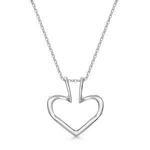 The Heart Ring Holder Necklace