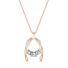 The Wishbone Ring Holder Necklace
