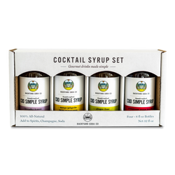 CBD Simple Syrup Gift Pack