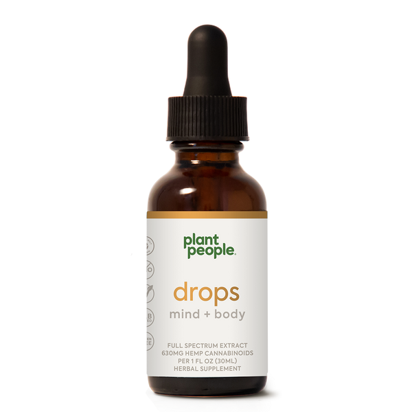 CBD Drops: Mind + Body