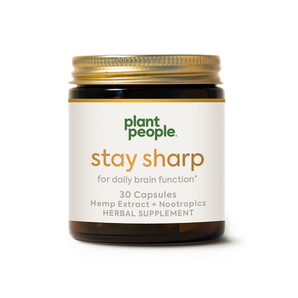 CBD Capsules: Stay Sharp