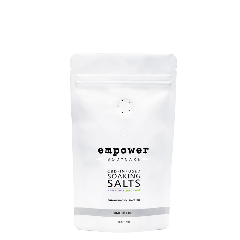 EMPOWER CBD-INFUSED SOAKING SALTS