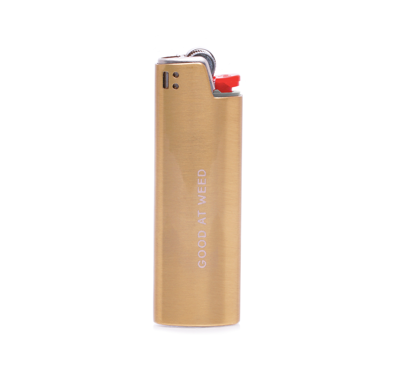 Miss Grass Gold Lighter Case