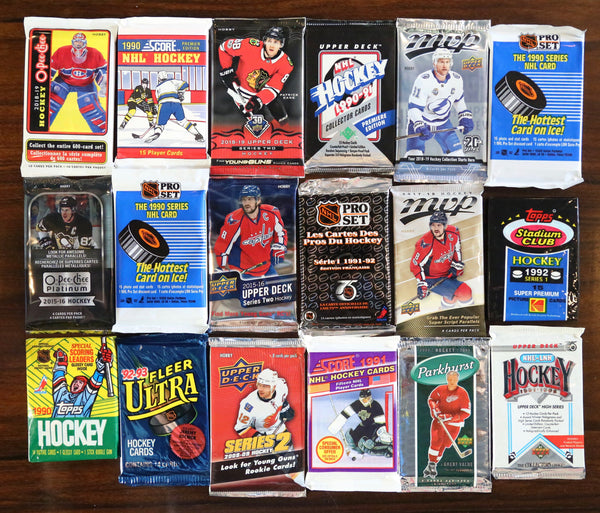 Modern and Vintage Hockey Box