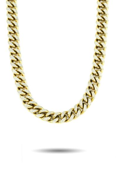 Gold Gods 10mm Diamond Cuban Link Chain