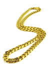 Flat Edge Cuban Link Chain
