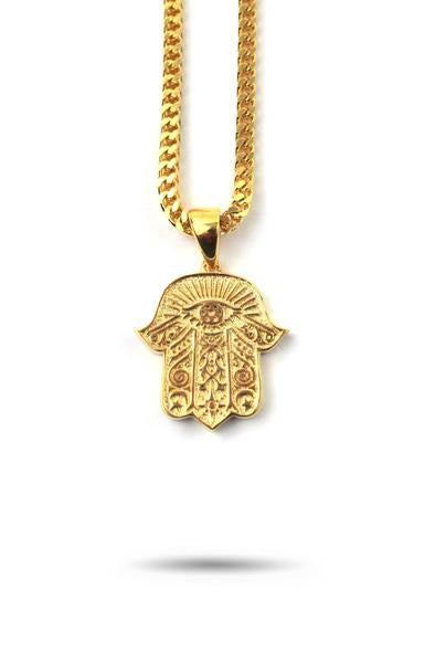 Hamsa Hand Piece Necklace