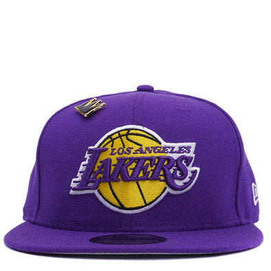 New Era Lakers Basquiat Crown Pin Snapback