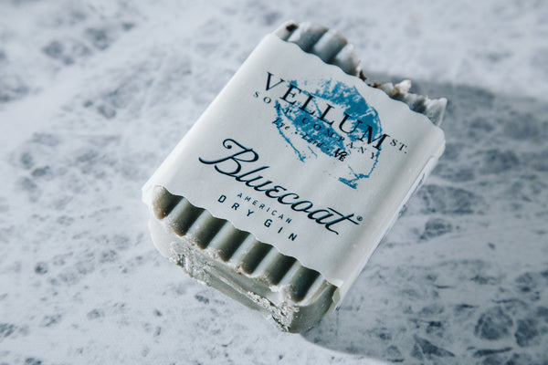 Bluecoat Soap- Vellum Soap Co.