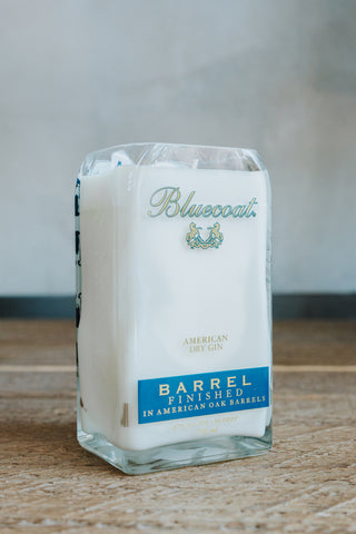 Bluecoat Barrel Finished Candle