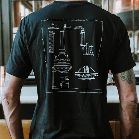Philadelphia Distilling Pot Still Shirt