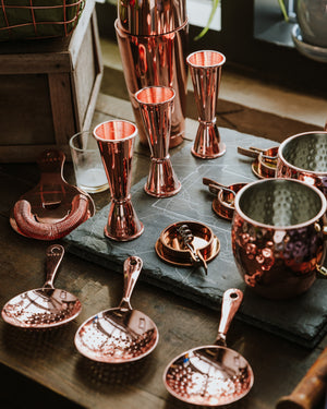 VISKI Copper Mixology Barware Gift Set
