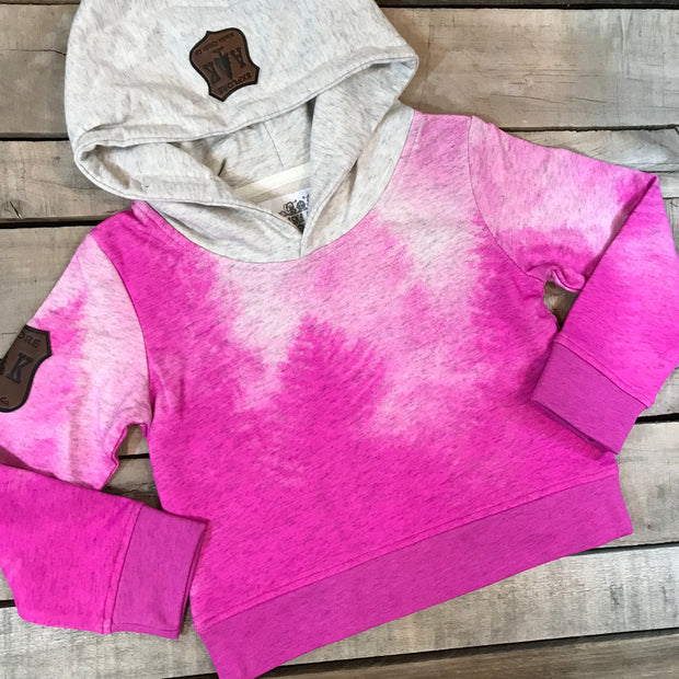 Girl's Frosted Forest Hoodie