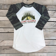 Camp Alaska Baseball T-shirt