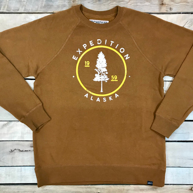 Lone Spruce Crewneck - Expedition Trading Co