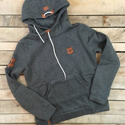 Leather Patch Hoodie - New Style
