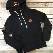 Leather Patch Hoodie - 2019 Style