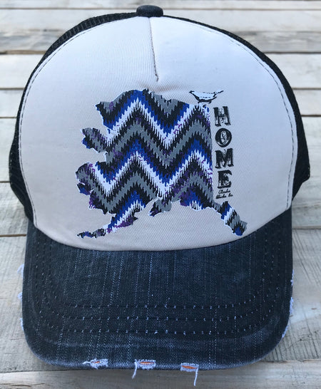 Black Home Trucker Hat