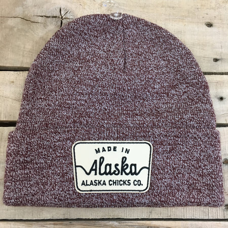 Made in Alaska Patch Beanie