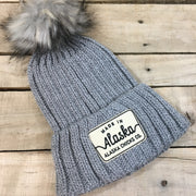 Knit Hat - Made in Alaska Patch