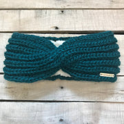 Twisted Fleece Lined Headband