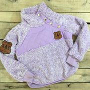 Girl's Fuzzy Pullover