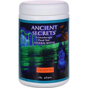 Ancient Secrets Aromatherapy Dead Sea Mineral Baths Eucalyptus - 2 Lbs